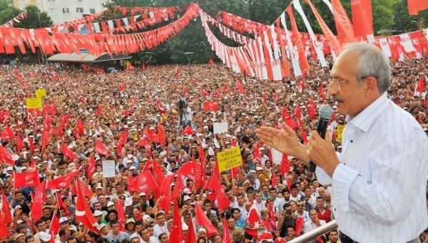 CHP,  Pazar günü harekete geçiyor!