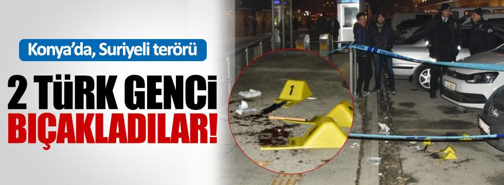 Suriyeliler 2 Türk genci bıçakladı