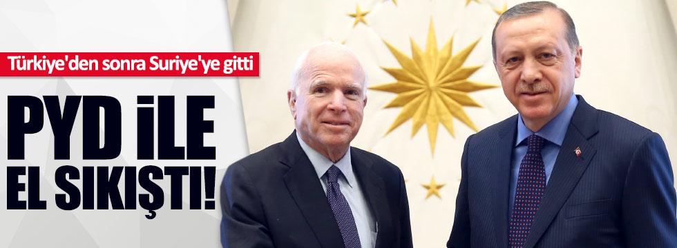 Mccain'den PYD/PKK'ya silah sözü