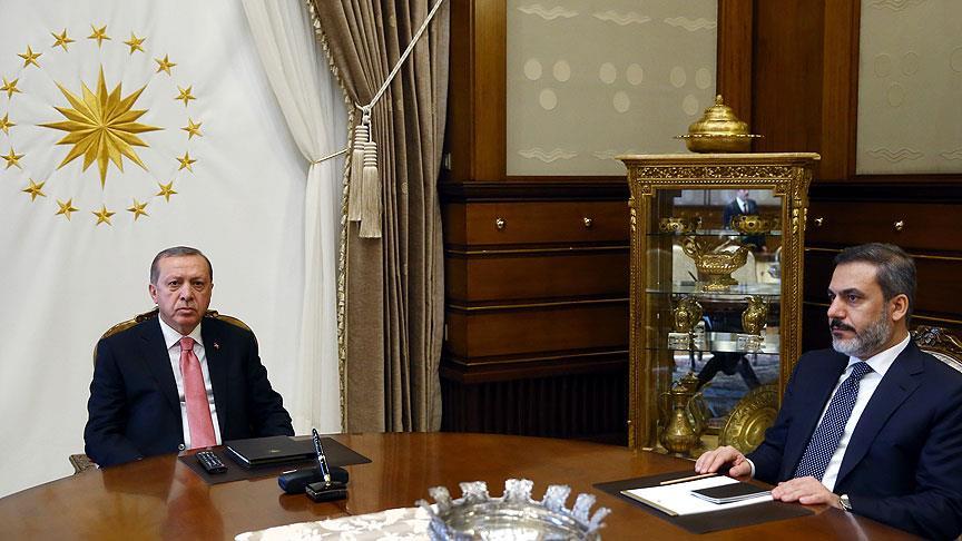 Erdoğan, 'sır küpü'yle görüştü!