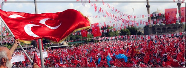 Türk Milliyetçileri 'Hayır' diyor Platformu meydanlara iniyor