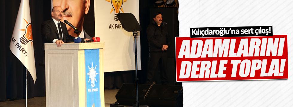 Soylu'dan Kılıçdaroğlu ve Tanrıkulu'na çok sert tepki!