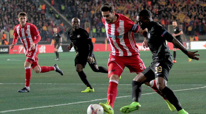 Osmanlıspor 0-3 Olympiakos / Maç Özeti