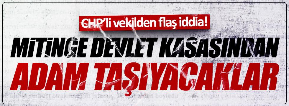 CHP'li Nurlu: Devlet kasasından adam taşıyacaklar!