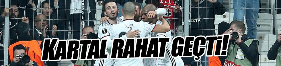 Beşiktaş 2-1 Hapoel Beer-Sheva / Maç Özeti