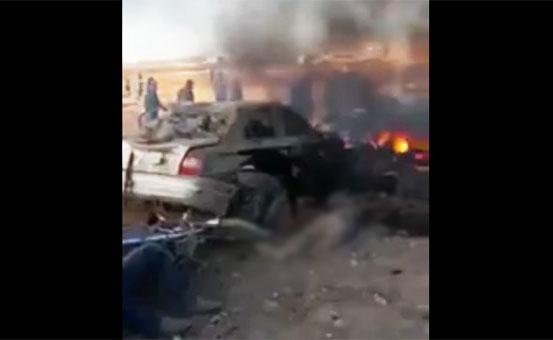 El-Bab'da bombalı araçla saldırı