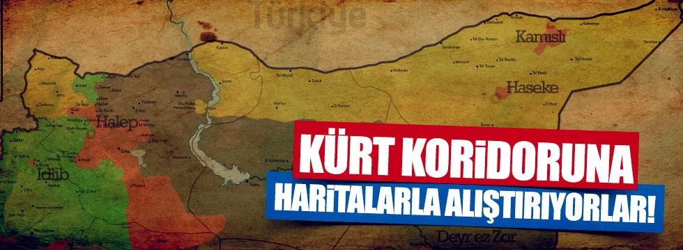 Eslen: Kürt koridoruna haritalarla alıştırıyorlar