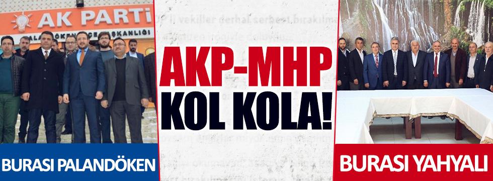 Palandöken ve Yahyalı'da MHP ve AKP işbirliği