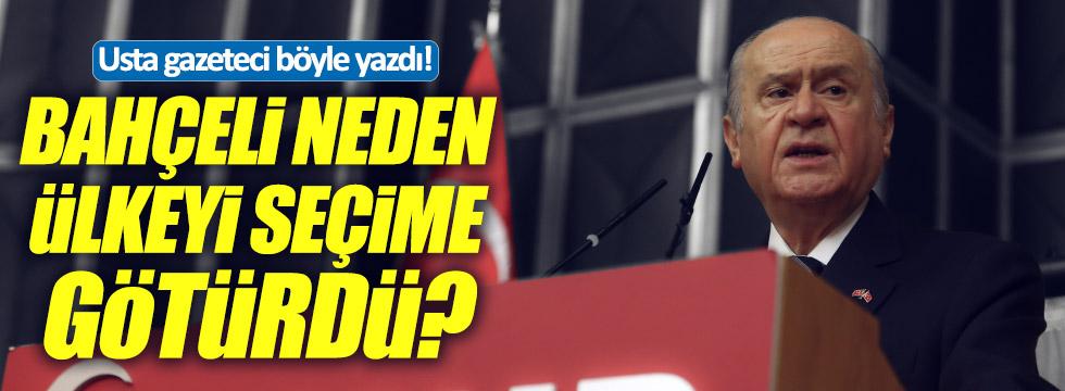 """Mengi: """"Bahçeli neden AKP ile koalisyon yapmadı!"""""""