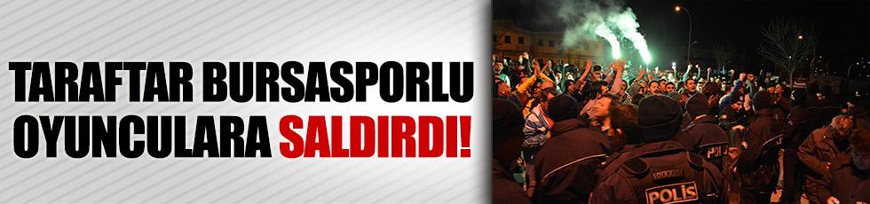 Bursaspor otobüsüne saldırı!