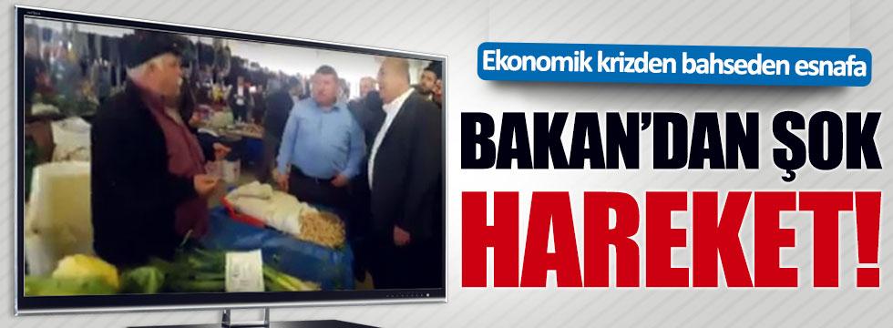 Bakan Çavuşoğlu'ndan esnafa şok hareket!