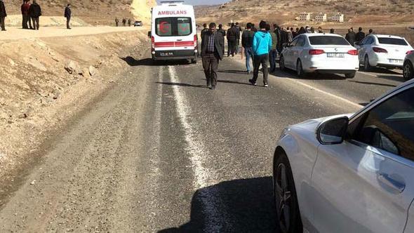 Mardin-Diyarbakır karayolunda patlama