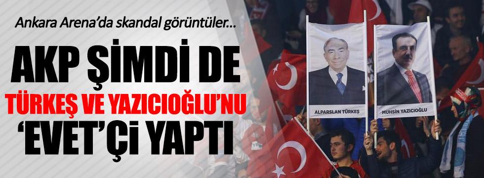 AKP şimdi de Türkeş'i Kullandı