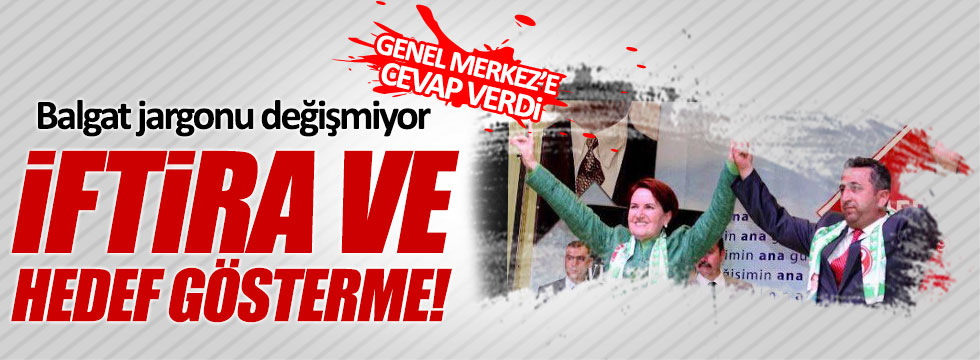MHP'li Yüksel Yılmaz'dan Balgat'a sert cevap!