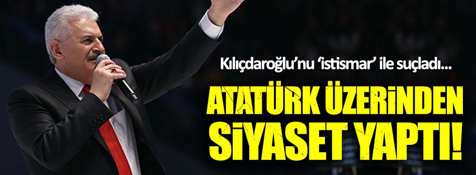 Başbakan Yıldırım, Atatürk üzerinden 'evet' istedi