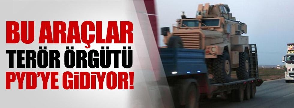 ABD'den PYD'ye yeni zırhlı araçlar!