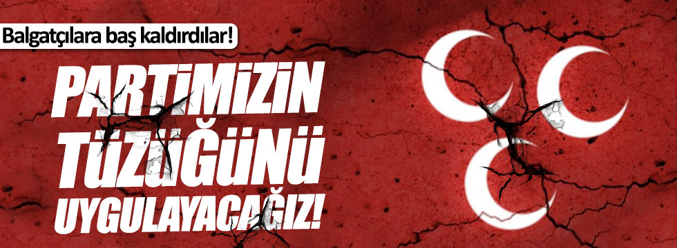 MHP Buldan teşkilatı 'hayır' diyecek!