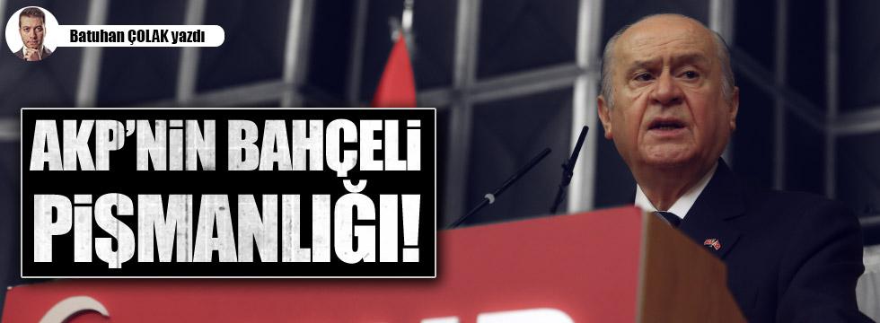 AKP'nin Bahçeli Pişmanlığı