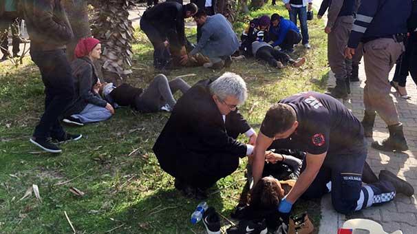 MHP konvoyunda kaza: Yaralılar var