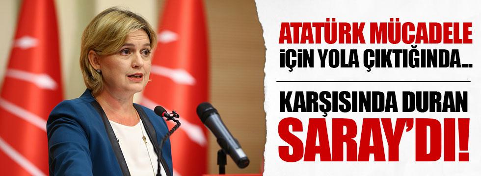 Böke: Atatürk mücadele için yola çıktığında karşısında duran Saray'dı!