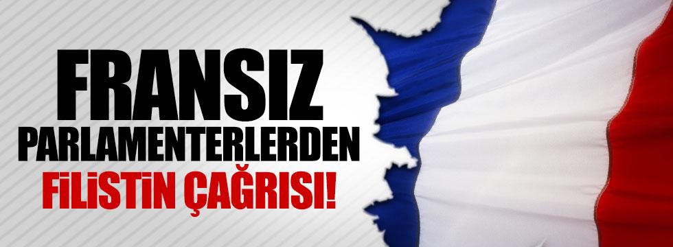 Fransız parlamenterlerden Filistin çağrısı