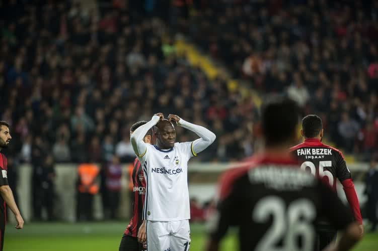 Gaziantep 1-1 Fenerbahçe (Maç Özeti)