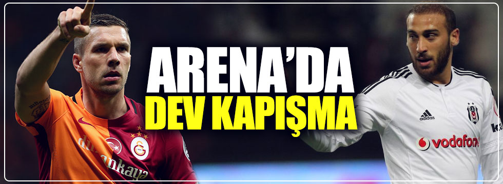 Arena'da dev derbi
