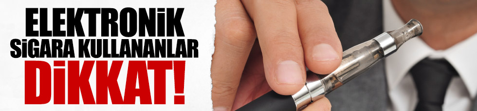 Elektronik sigara sağlığa zararlımı