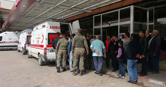El Bab'da 3 asker yaralandı