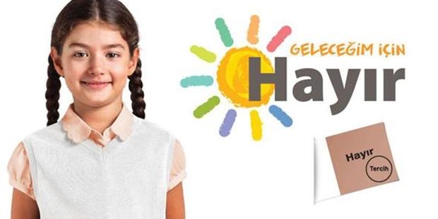 CHP'nin referandum logosu