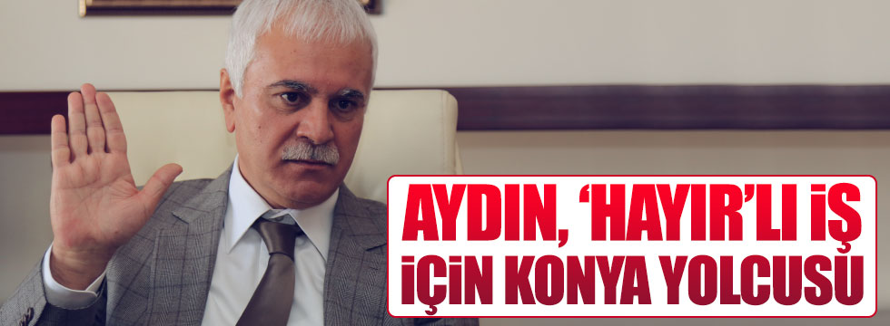 Koray Aydın'dan Konya'ya çıkarma