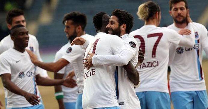 Trabzonspor'u yeni transferler sırtlıyor