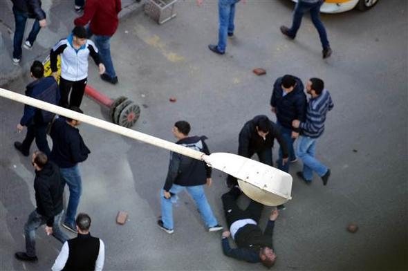 Diyarbakır'da pitbulllu kavga