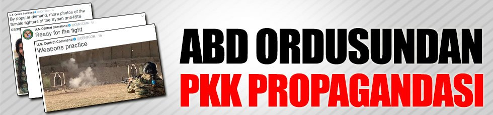 ABD ordusundan PKK propagandası