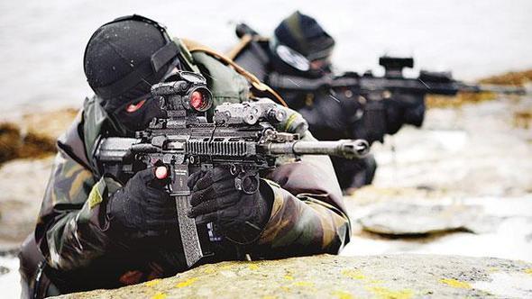 SAS ve SAT'lar operasyona katıldı