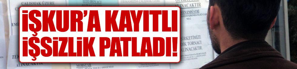 İŞKUR'a kayıtlı işsiz sayısı Ocak'ta patladı