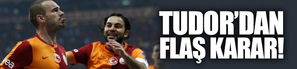 Selçuk ve Sneijder için flaş karar