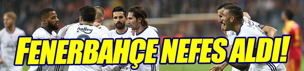 Kayserispor 0-3 Fenerbahçe
