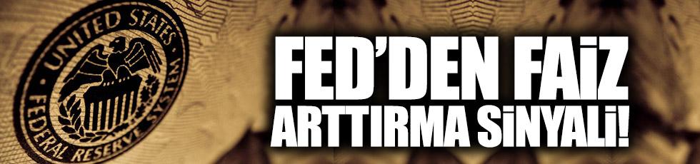 FED'den faiz artırma sinyali!