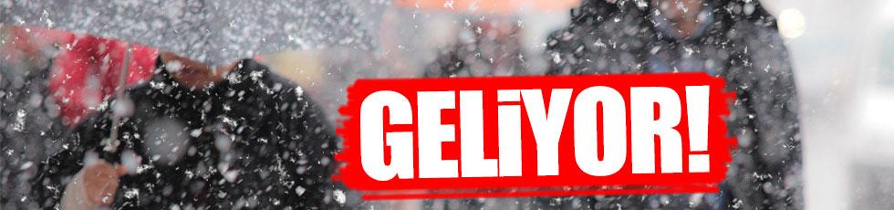Meteoroloji'den 'kar' uyarısı