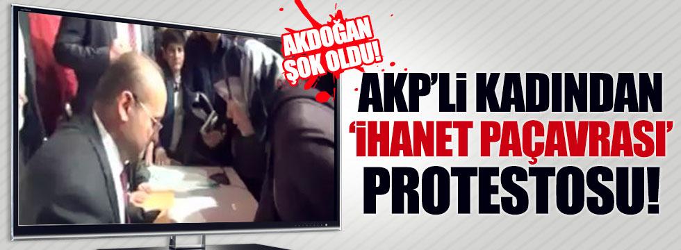 AKP'li kadından Yalçın Akdoğan'a şok tepki!