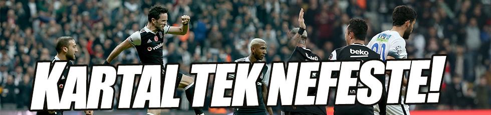 Beşiktaş 1-0 Çaykur Rizespor / Maç özeti