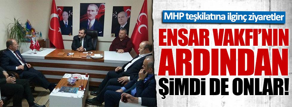 AKP'liler MHP Ordu İl Teşkilatı'nda!