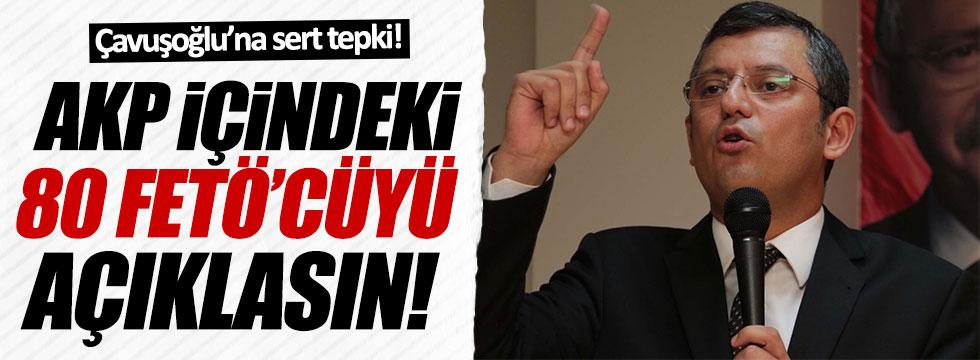 CHP'li Özel: AKP içinde 80 FETÖ'cü vekil var mı yok mu?