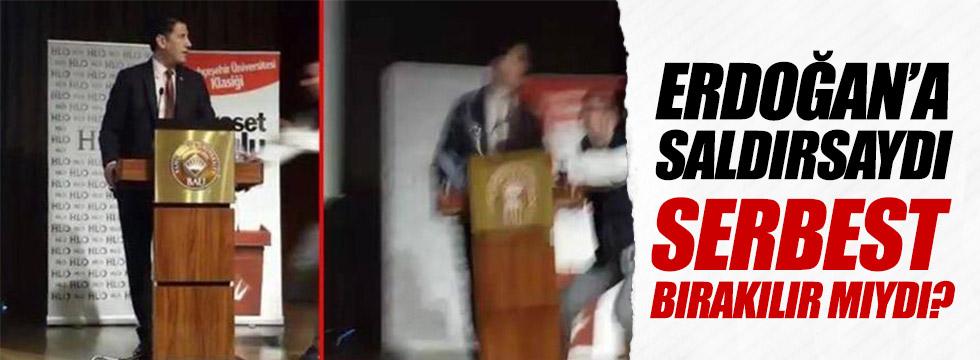 """Oğan: """"Erdoğan'a saldırsaydı serbest bırakılır mıydı?"""""""