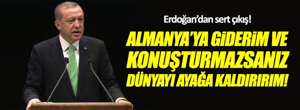 Erdoğan'dan Almanya'ya çok sert çıkış