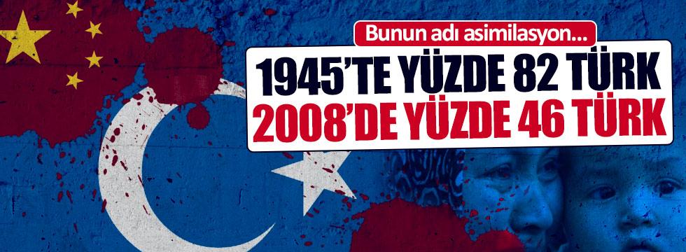 Doğu Türkistan'da Türkler asimile ediliyor!