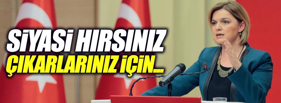 """Böke, """"Türkiye'yi bölmeye hakkınız yok"""""""