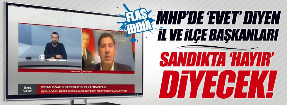 Sinan Oğan'dan MHP'li başkanlarla ilgili çarpıcı iddia