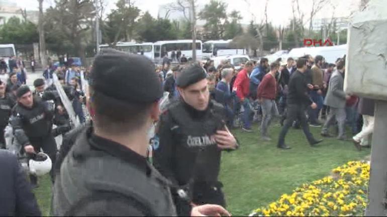 Vatan Caddesi'nde 200 gözaltı